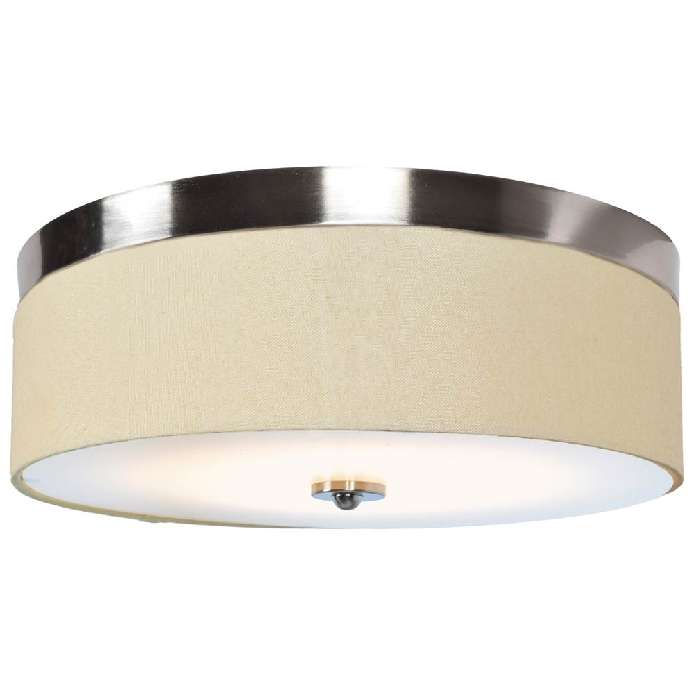 Access Lighting (l) LED Flush Mount with Fabric Shade