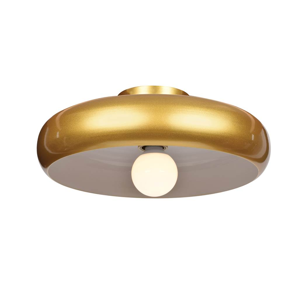 Access Lighting (s) Round Colored LED Semi Flush Mount