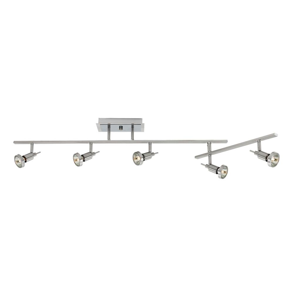 Access Lighting 5-Light Dimmable LED Semi-Flush with Articulating Arm