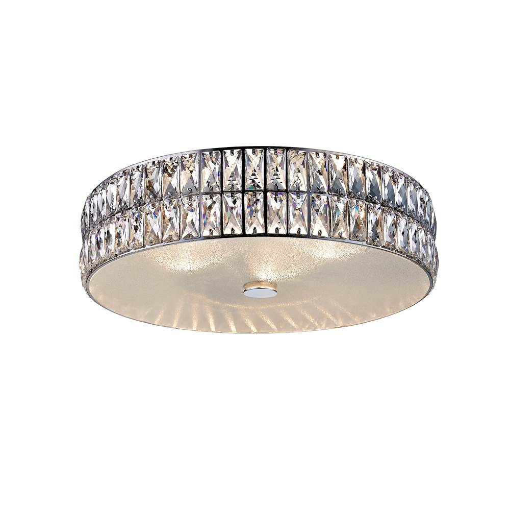Access Lighting (l) Crystal Flush Mount