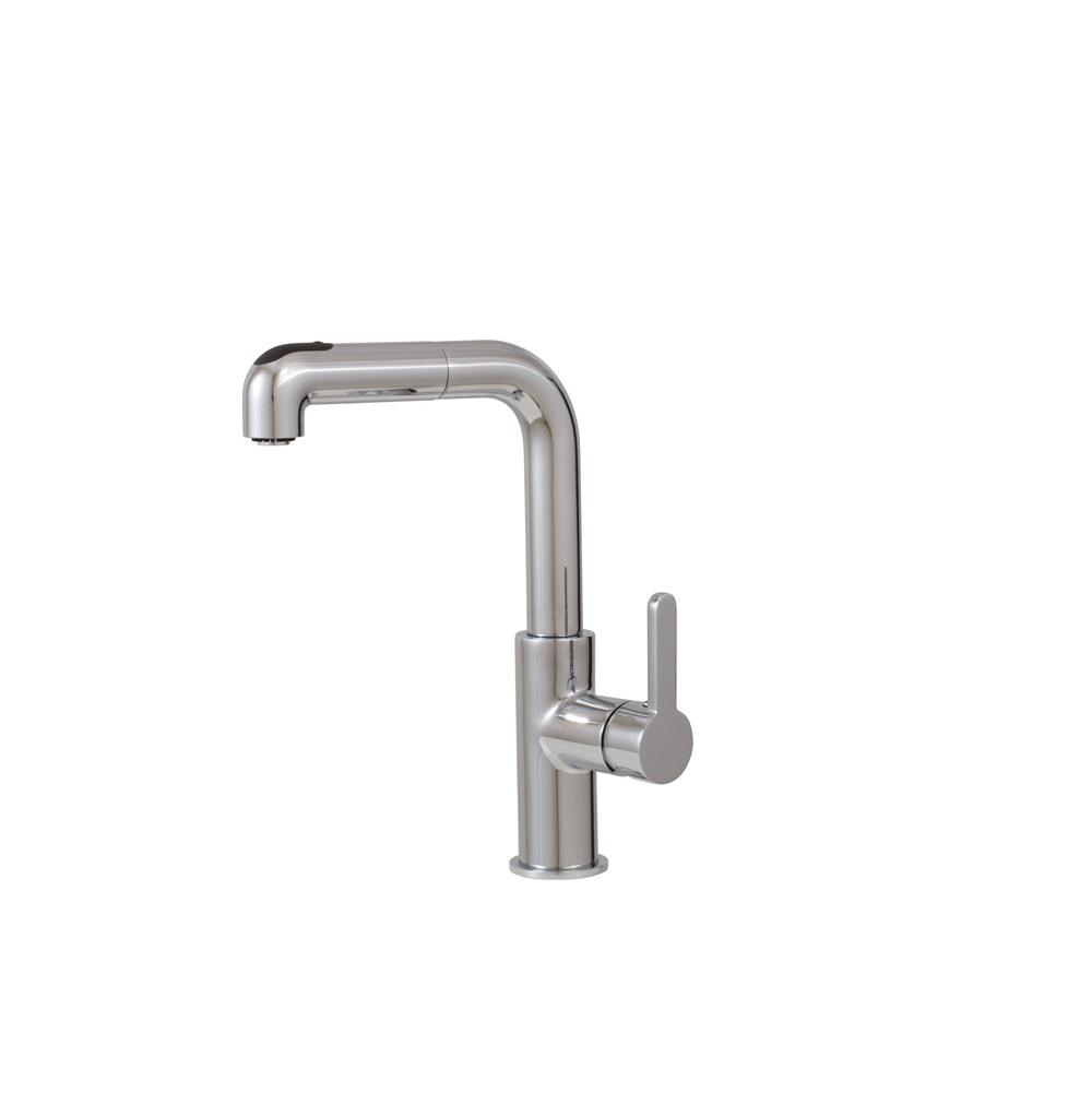 Aquabrass 5043N EATALIA PULL-OUT SPRAY KITCHEN FAUCET
