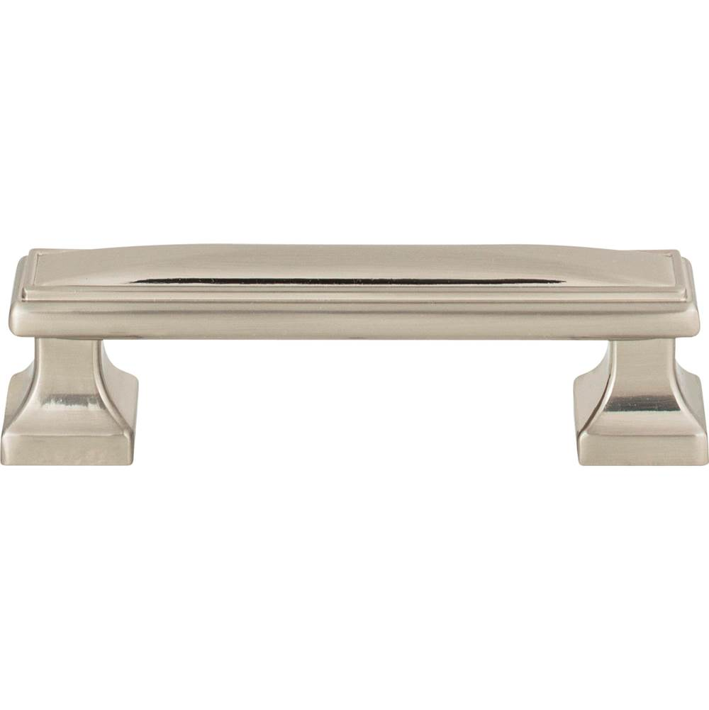 Atlas Wadsworth Pull 3 3/4 Inch (c-c) Brushed Nickel