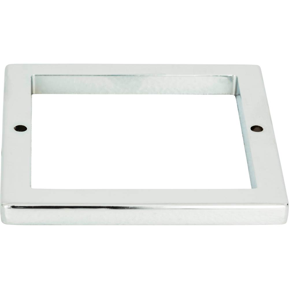 Atlas Tableau Square Base 3 Inch Polished Chrome