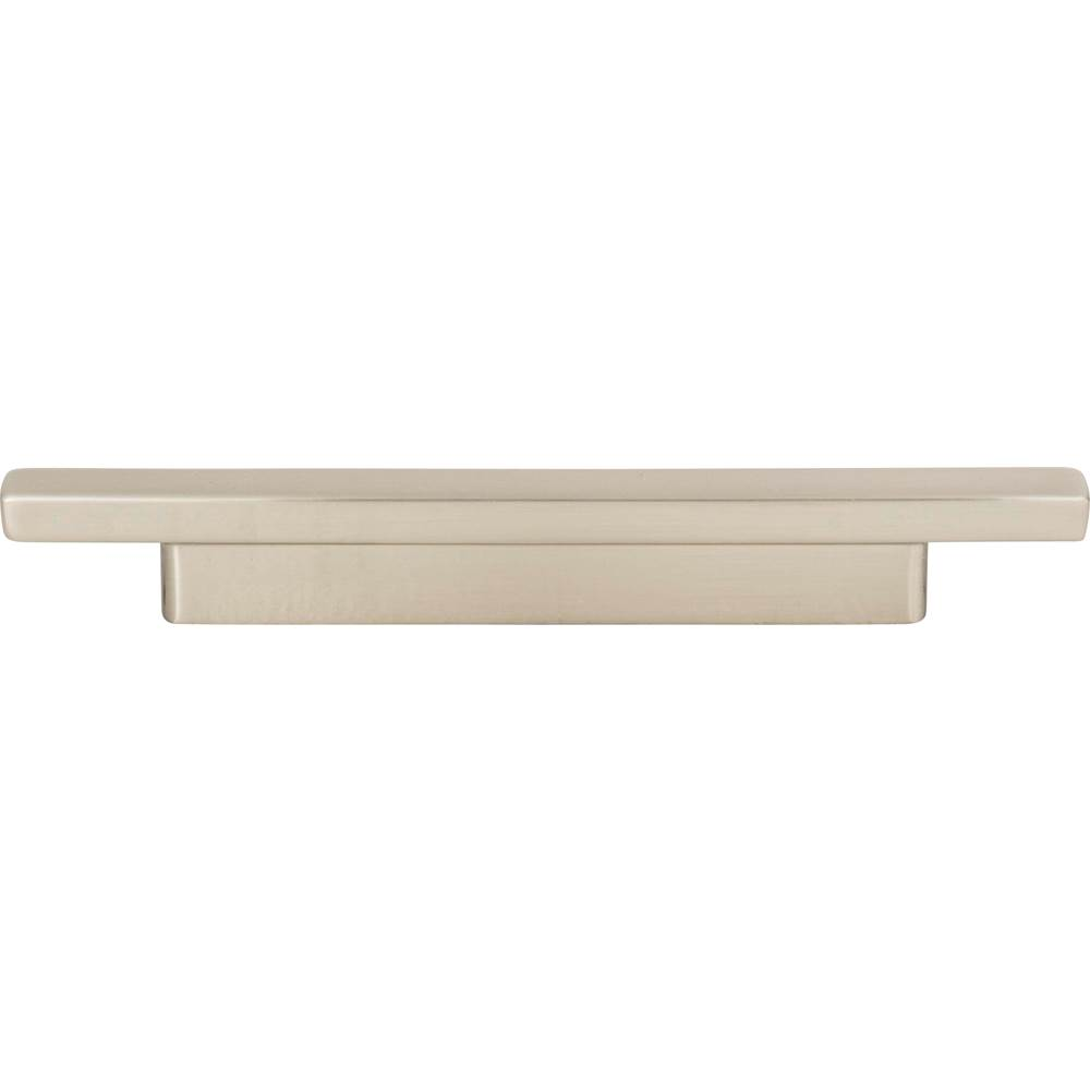 Atlas Tom Tom Pull 3 Inch (c-c), 3 3/4 Inch (c-c) Brushed Nickel