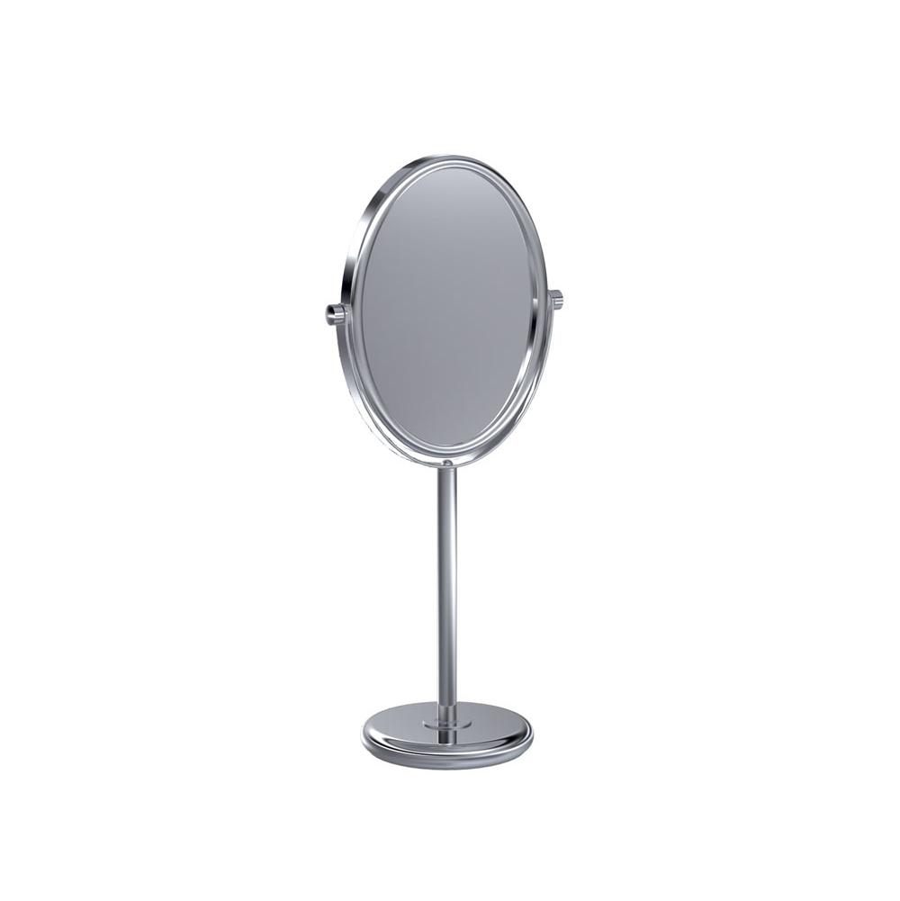 Baci Mirrors Deluxe Reversible Non Lit Mirror 3X By 1X - Round
