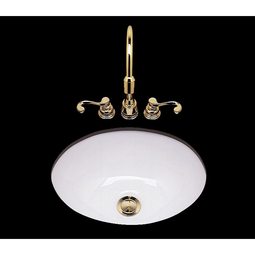 Bates And Bates Teri, Double Glazed, Small Oval Lavatory, Plain Bowl, No Overflow,  Drop In