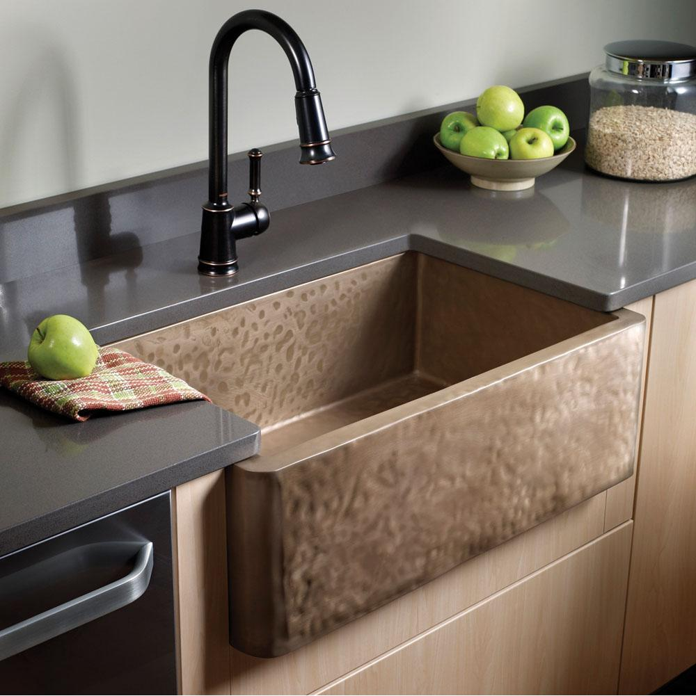 Bates And Bates Zabrina, Farmhouse Sink, Textured Pattern, Undermount & Drop In