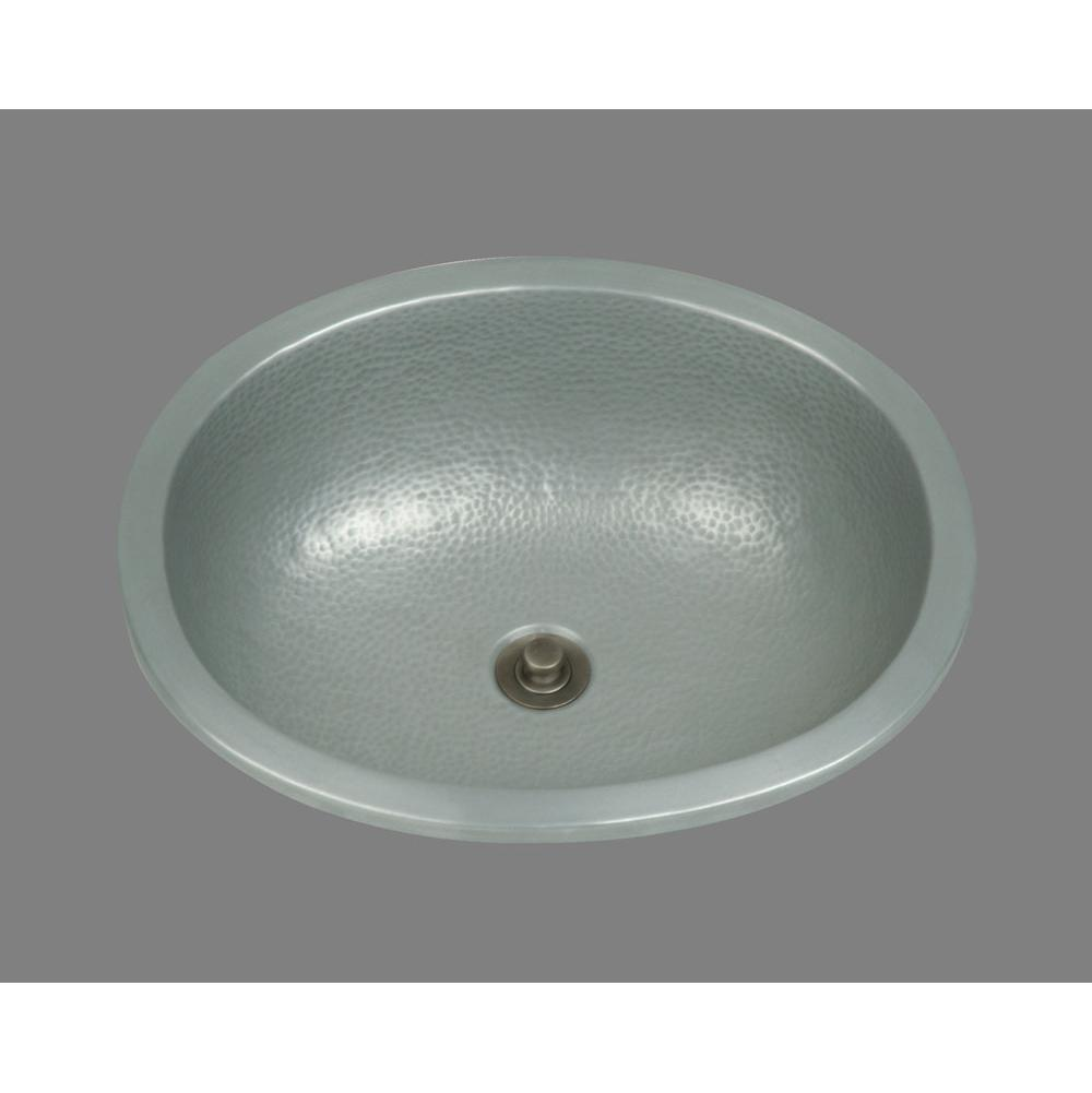Bates And Bates Zoe, Large Oval Lavatory, Hammertone Pattern, Undermount & Drop In