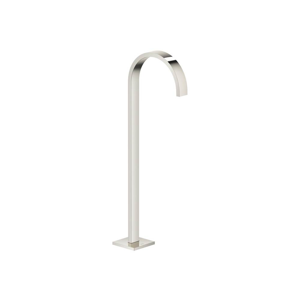 Dornbracht Tub spout without diverter for freestanding installation