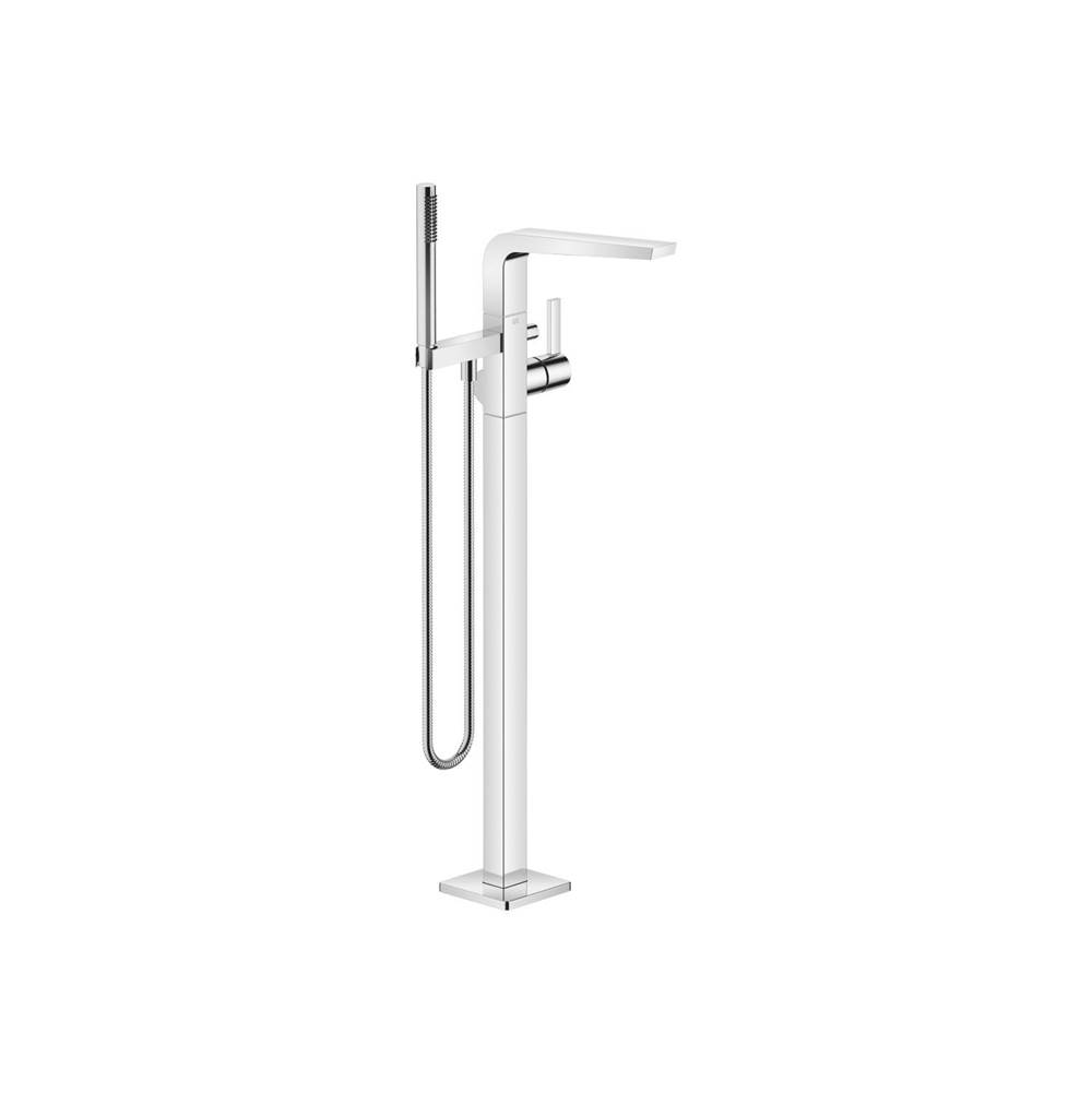 Dornbracht Single-lever tub mixer for freestanding installation with hand shower set