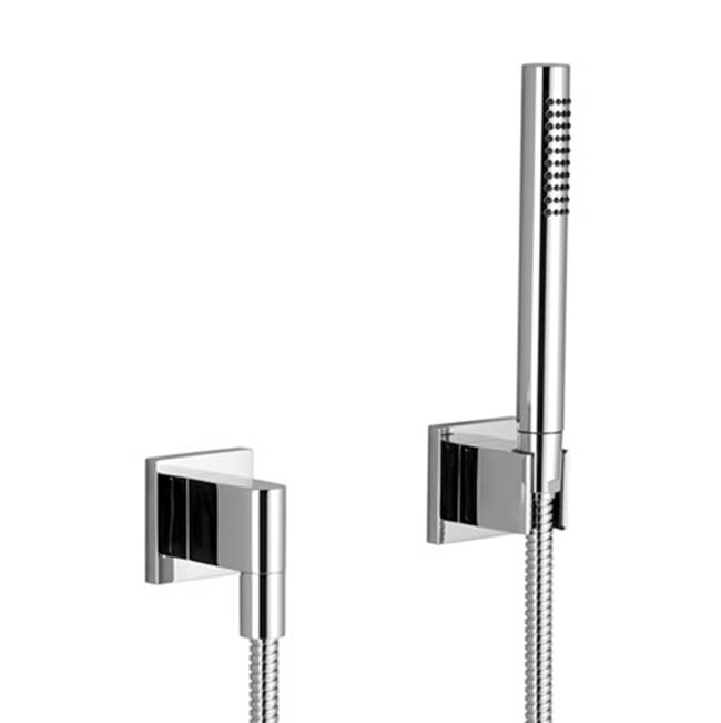 Dornbracht Hand shower set with individual flanges