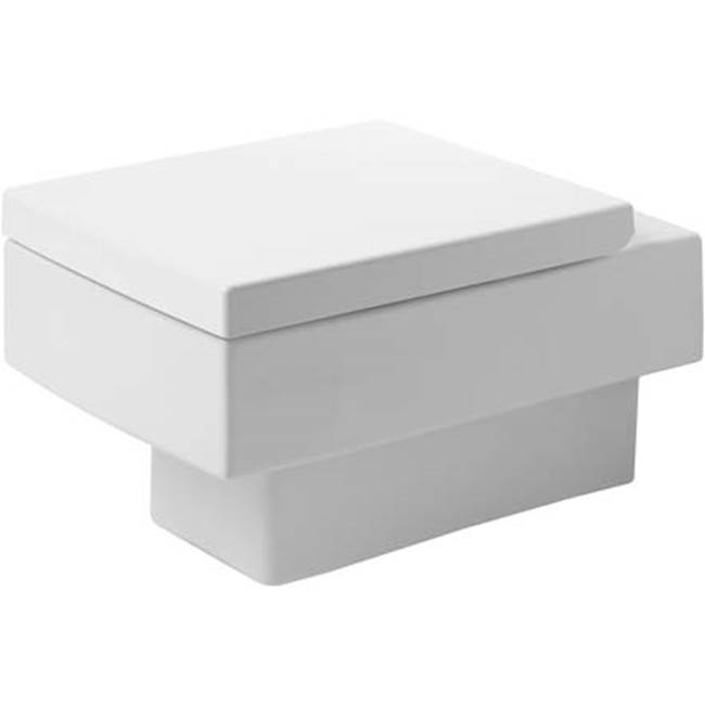 Duravit Duravit Vero Wall-Mounted Toilet  White WonderGliss