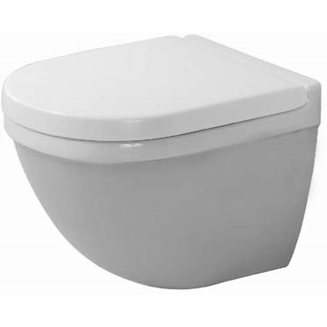 Duravit Duravit Starck 3 Wall-Mounted Toilet  White WonderGliss