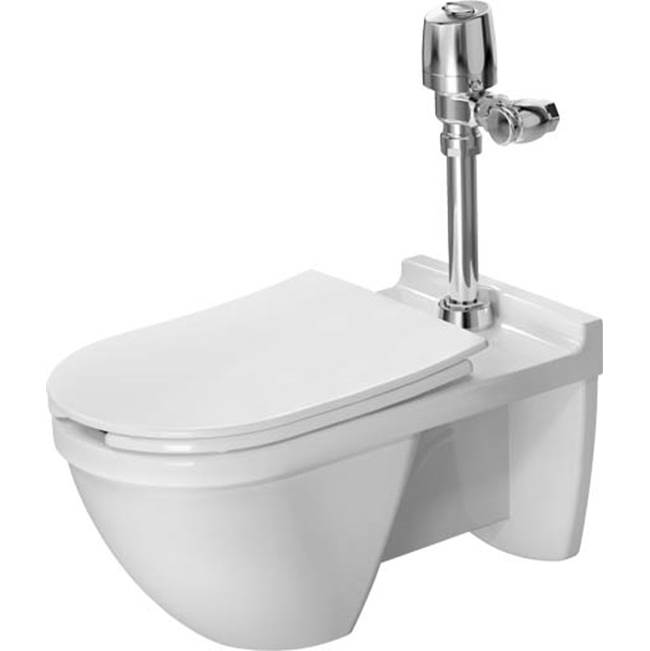 Duravit Duravit Starck 3 Wall-Mounted Toilet  White