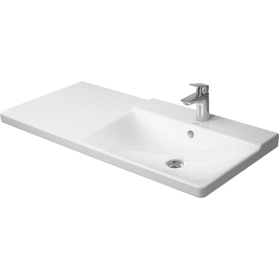 Duravit Duravit P3 Comforts Bathroom Sink  White WonderGliss