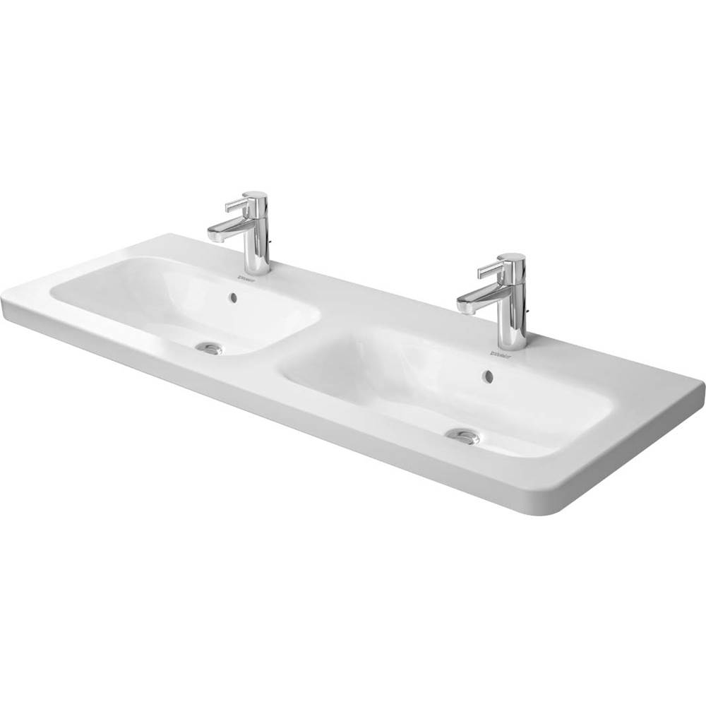 Duravit Duravit DuraStyle Double Bathroom Sink  White