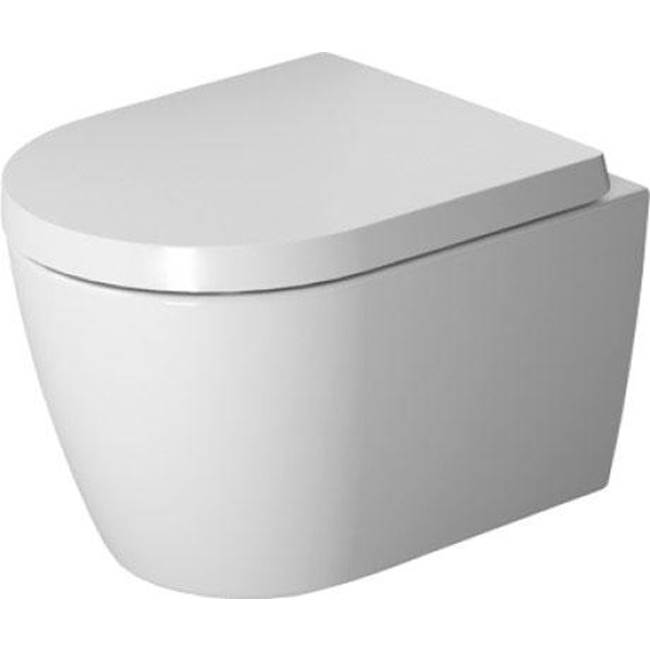 Duravit Duravit ME by Starck Wall-Mounted Toilet  White/White Satin Matte