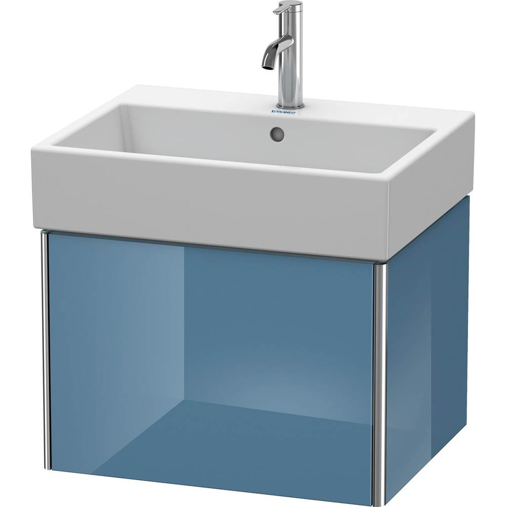 Duravit Duravit XSquare Vanity Unit Wall-Mounted  Stone Blue High Gloss