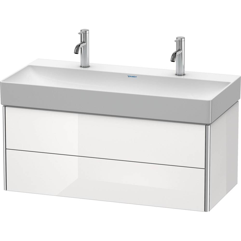 Duravit Duravit XSquare Vanity Unit Wall-Mounted  White High Gloss