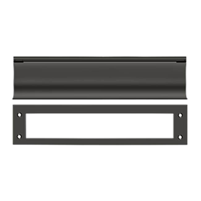 Deltana Mail Slot Hd Solid Brass 13X3'', Oil Rubbed Bronze