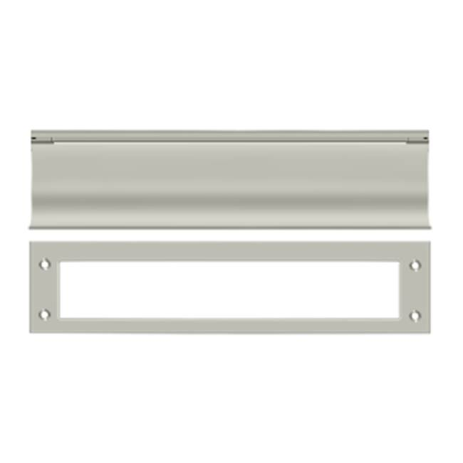 Deltana Mail Slot Hd Solid Brass 13X3'', Satin Nickel