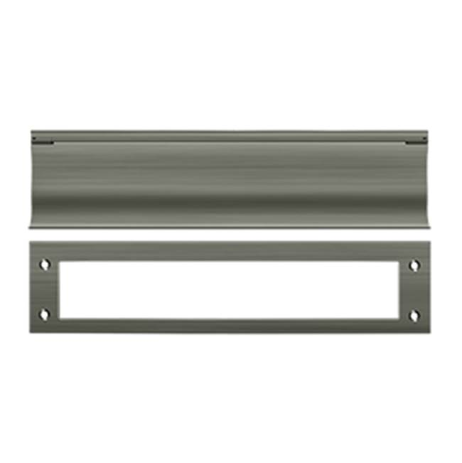 Deltana Mail Slot Hd Solid Brass 13X3'', Satin Nickela