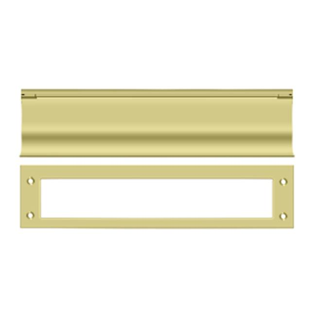 Deltana Mail Slot Hd Solid Brass 13X3'', Polished Brass