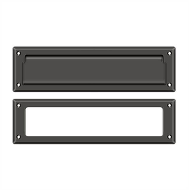 Deltana Mail Slot Kit Sb 2 1/4 X 11, Oil Rubbed Bronze