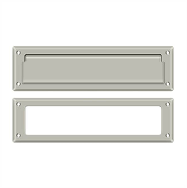 Deltana Mail Slot Kit Sb 2 1/4 X 11, Satin Nickel