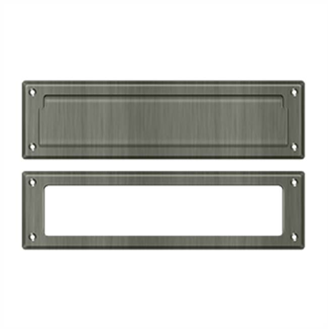 Deltana Mail Slot Kit Sb 2 1/4 X 11, Antique Nickel