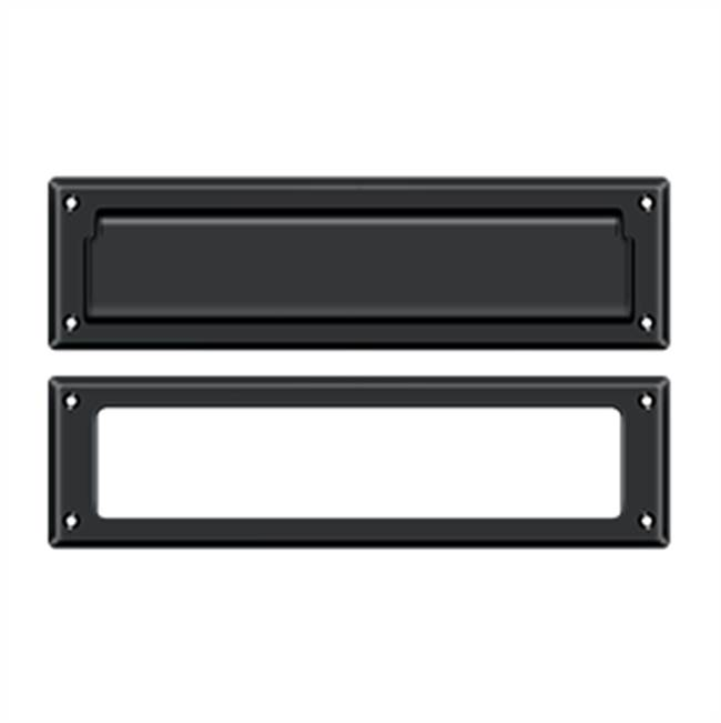 Deltana Mail Slot Kit Sb 2 1/4 X 11, Matte Black