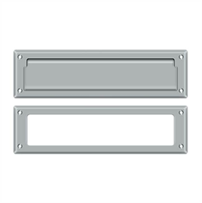 Deltana Mail Slot Kit Sb 2 1/4 X 11, Brushed Chrome