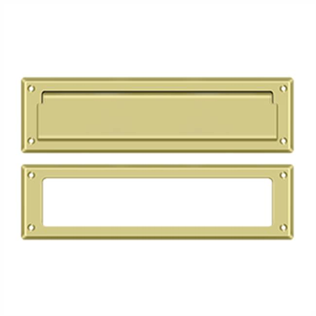 Deltana Mail Slot Kit Sb 2 1/4 X 11, Polished Brass
