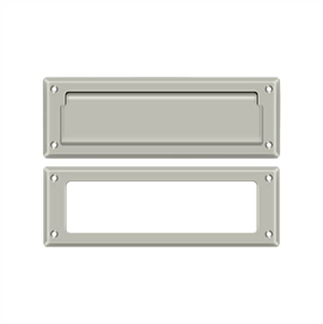 Deltana Mail Slot Kit Standard Sb 2 7/8 X 8 3/4, Satin Nickel