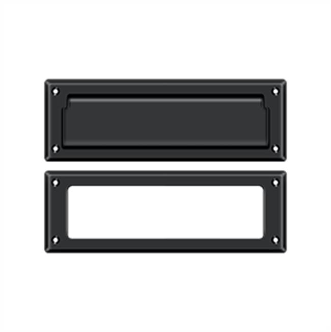 Deltana Mail Slot Kit Standard Sb 2 7/8 X 8 3/4, Matte Black
