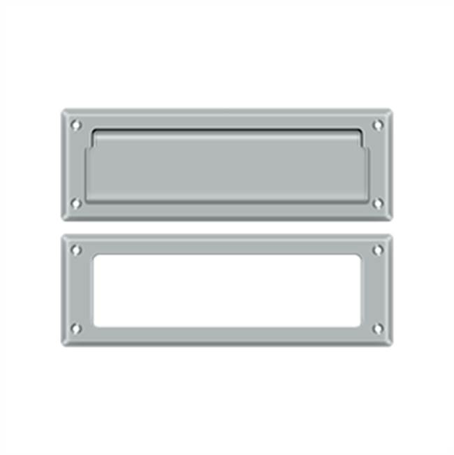 Deltana Mail Slot Kit Standard Sb 2 7/8 X 8 3/4, Brushed Chrome