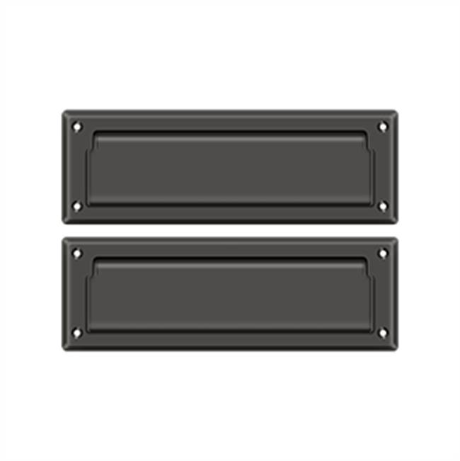 Deltana Mail Slot Kit With Covered Back Plate Sb 2 7/8 X 8 3/4, Oil Rubbed Bronze