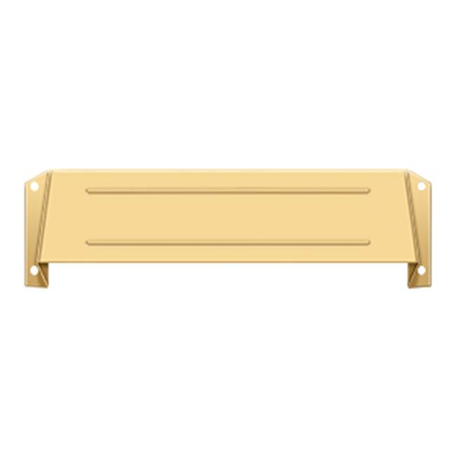 Deltana Hood For Mail Slot Kit Sb Proj 1 5/8'', PVD Polished Brass