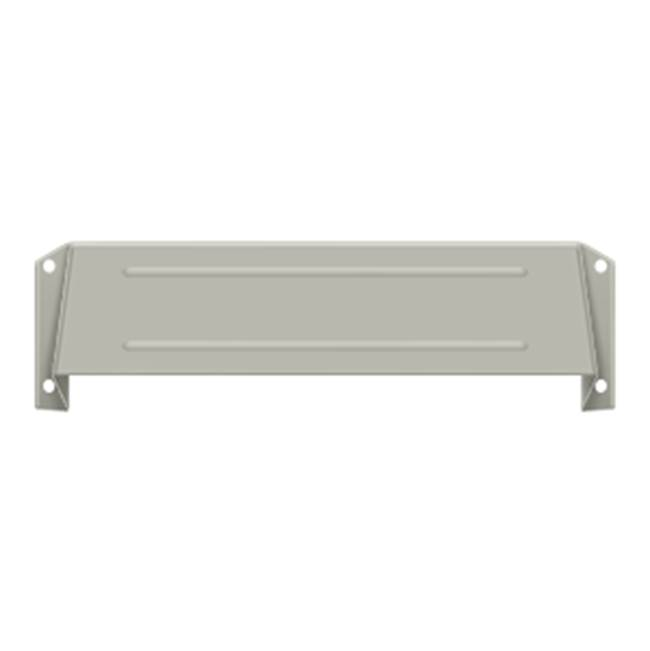 Deltana Hood For Mail Slot Kit Sb Proj 1 5/8'', Satin Nickel