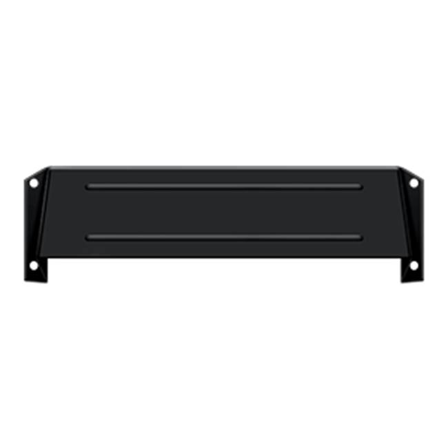 Deltana Hood For Mail Slot Kit Sb Proj 1 5/8'', Matte Black