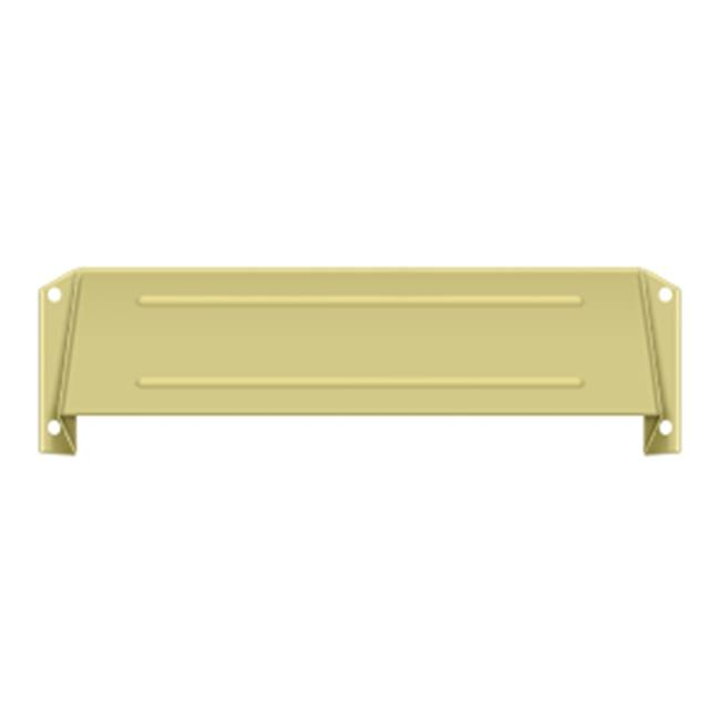 Deltana Hood For Mail Slot Kit Sb Proj 1 5/8'', Polished Brass