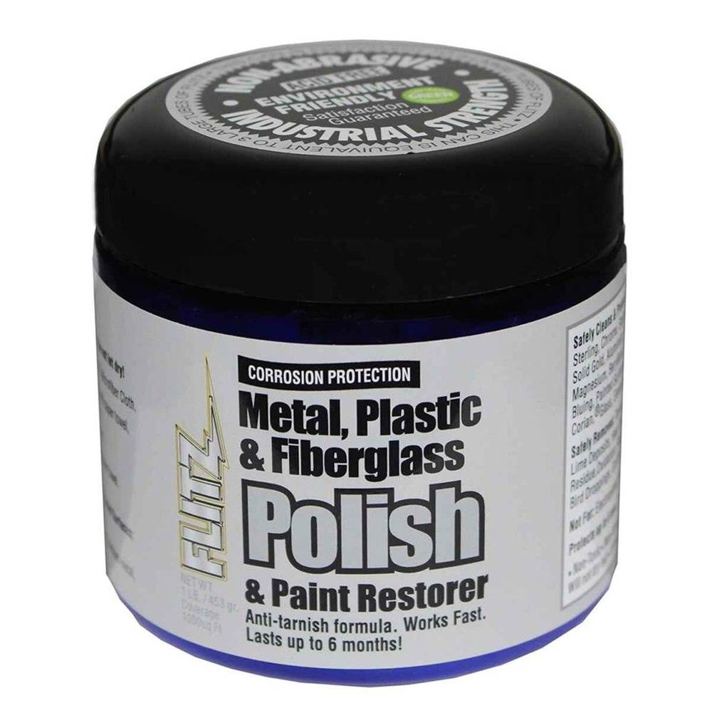 Flitz Metal, Plastic And Fiberglass Polish - Paste