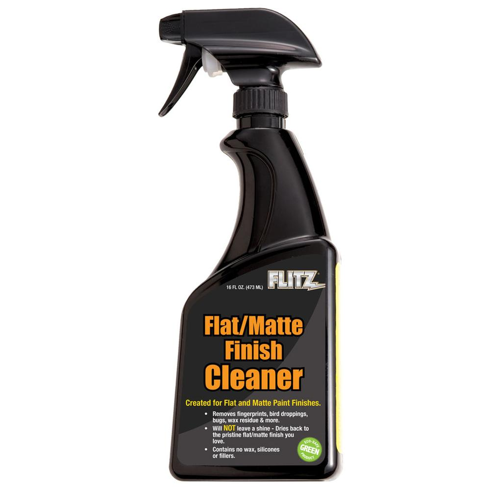 Flitz Flat/Matte Black Paint Cleaner