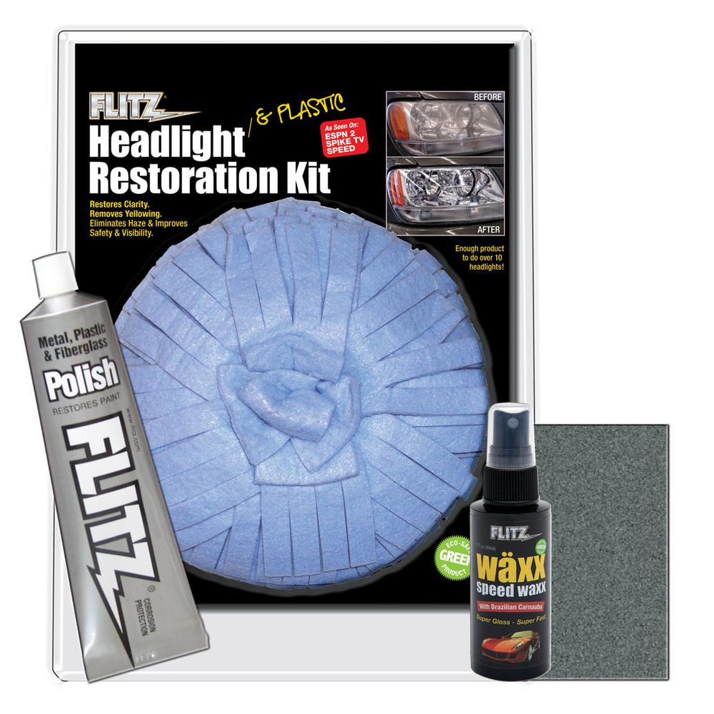Flitz Headlight Restoration Kit - Restores Up To 10 Plus Headlights!