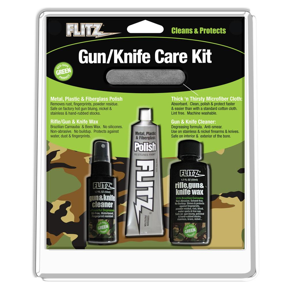 Flitz Knife And Gun Care Kit