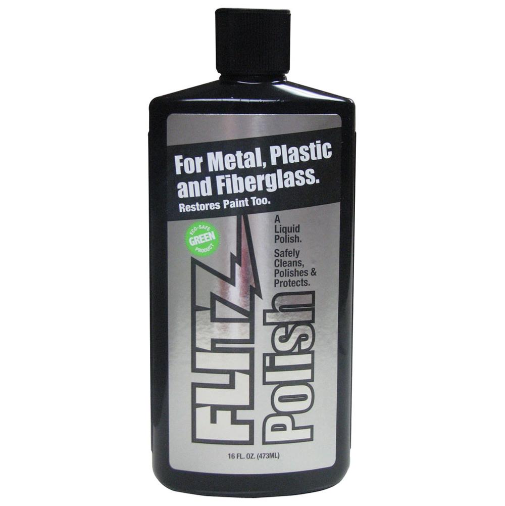 Flitz Metal, Plastic And Fiberglass Polish - Liquid