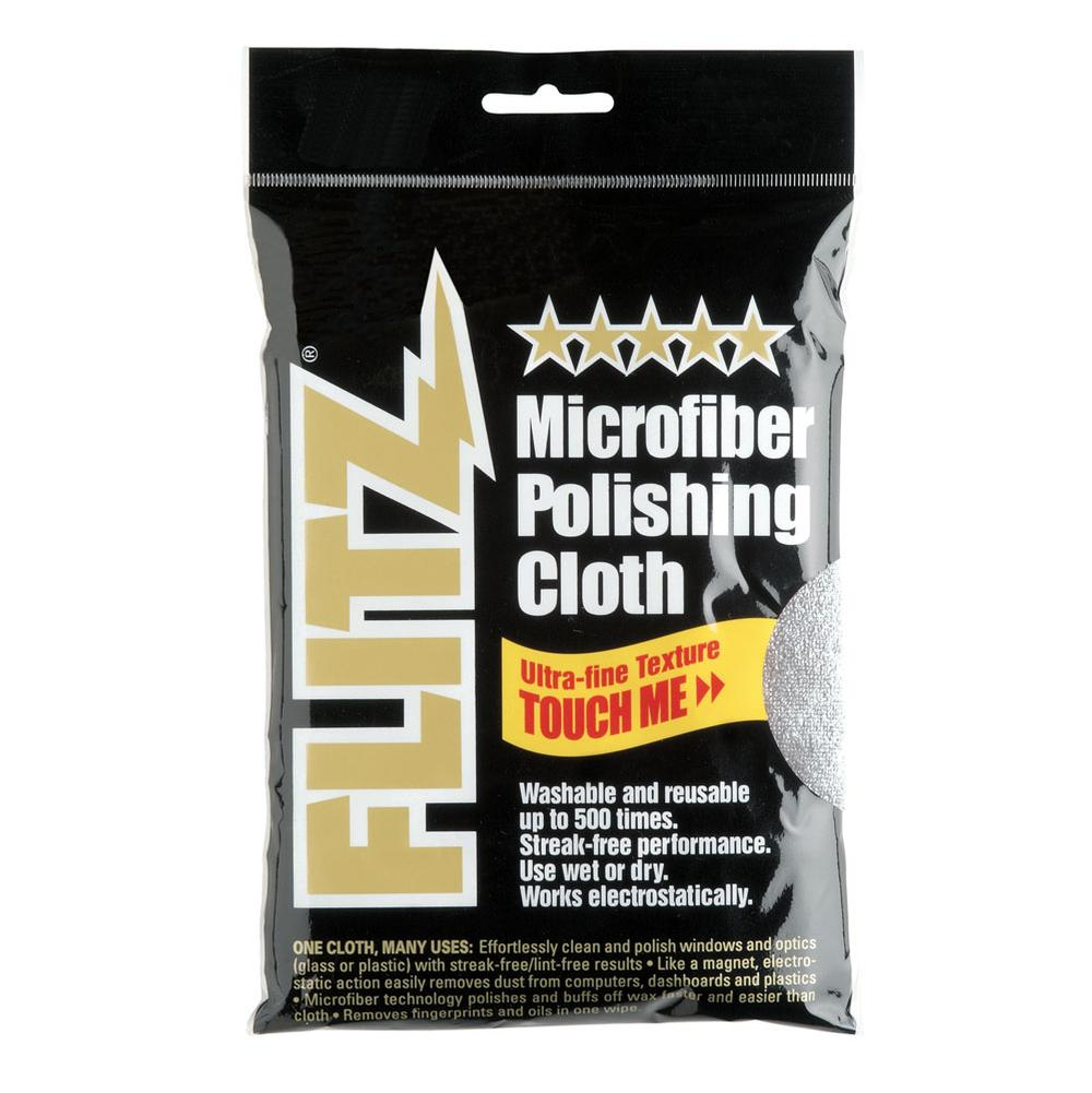 Flitz Microfiber Polishing Cloths - Thick ''N Thirsty