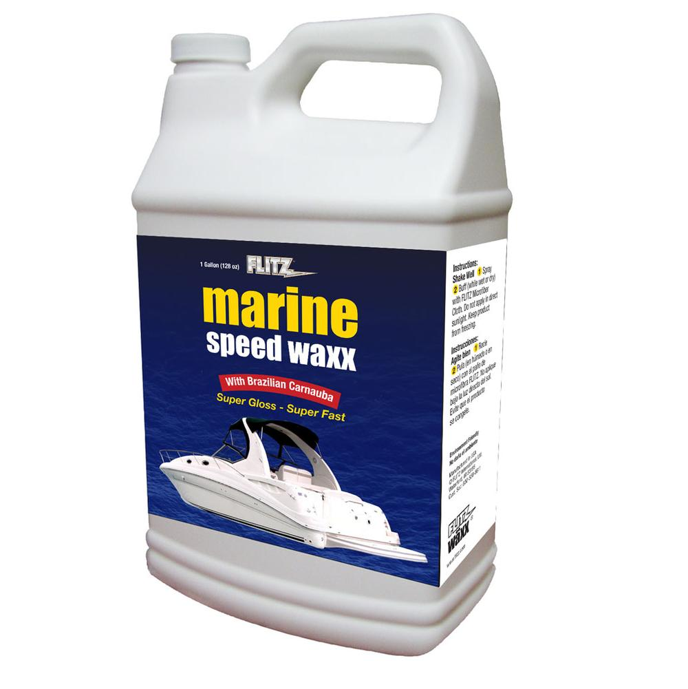 Flitz Flitz Marine Speed Waxx  1 Gallon / 128 Oz Refill Bottle