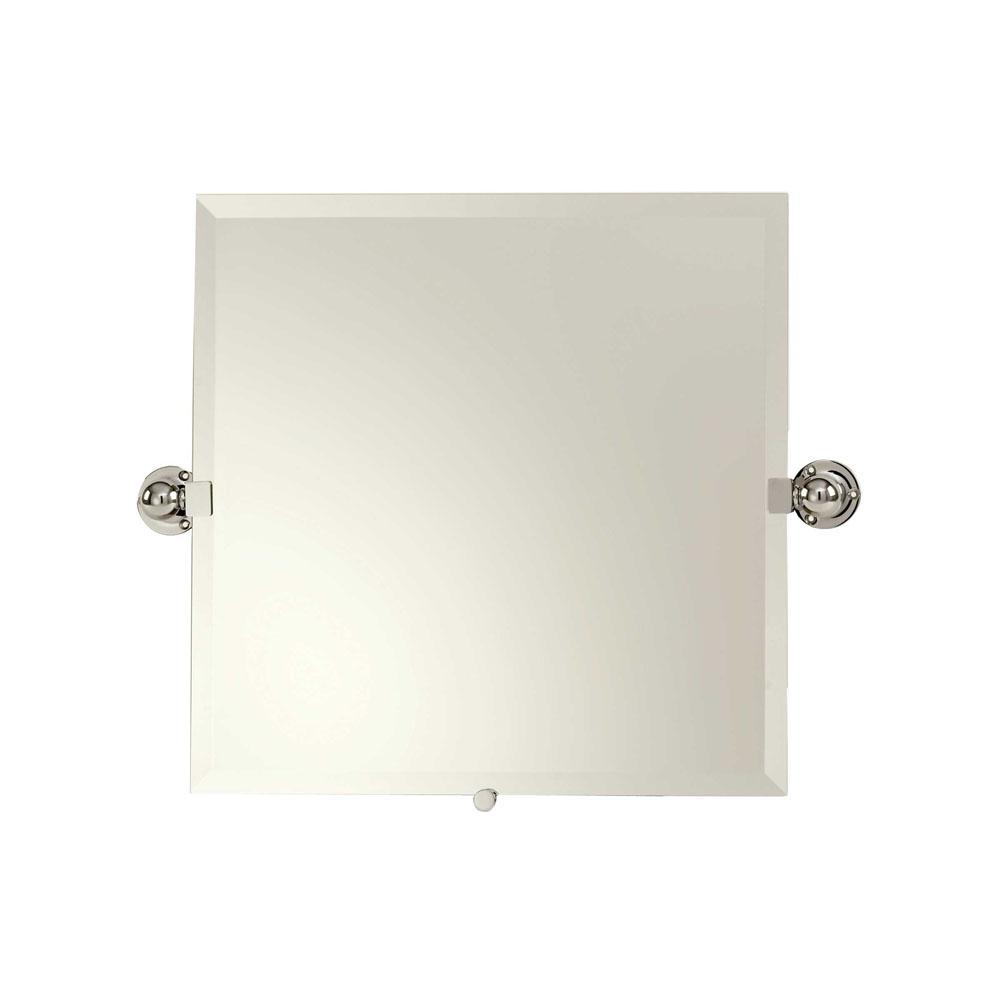 Ginger 20'' x 20'' Frameless Pivoting Mirror