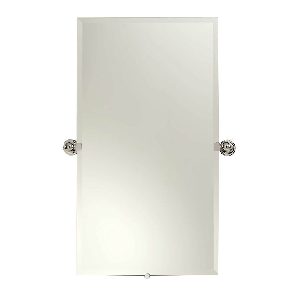 Ginger 20'' x 36'' Frameless Pivoting Mirror